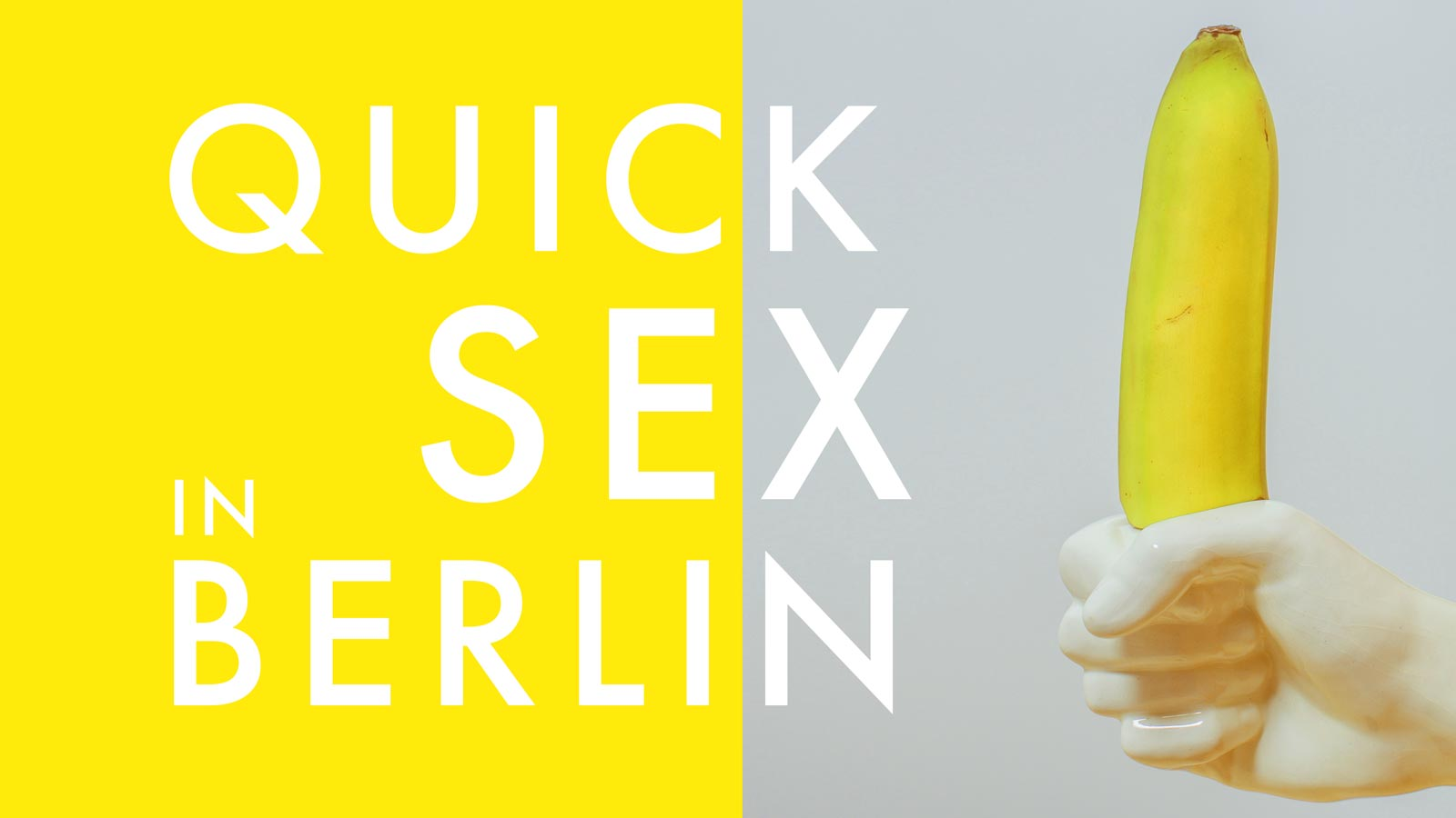 Quick Sex in Berlin - Insider Guide 2019
